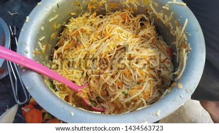 spicy tasty atho burmanese salads indian food #1434563723
