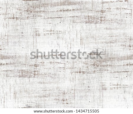 old wood texture distressed background, scratched white painted wood wall, seamless pattern Royalty-Free Stock Photo #1434715505