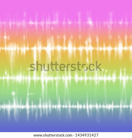 Bright gradient tie dye stripes Royalty-Free Stock Photo #1434931427