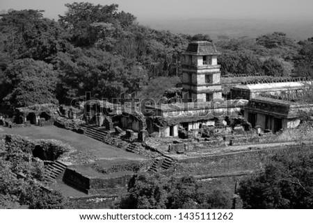 Ancient Maya Ruins in Mexico #1435111262