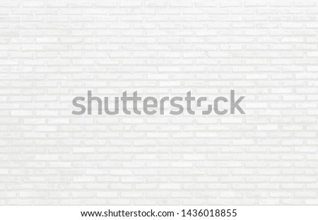 White brick wall texture for background wallpaper and graphic web design #1436018855