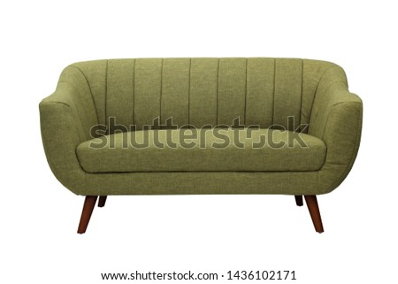 sofa with isolated white background #1436102171