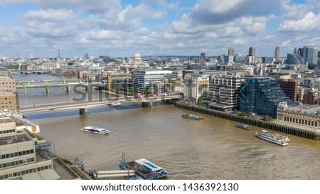 London Bridges over River Thames #1436392130