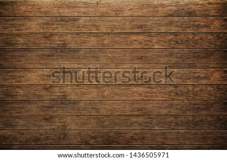 Old wooden planks background texture #1436505971