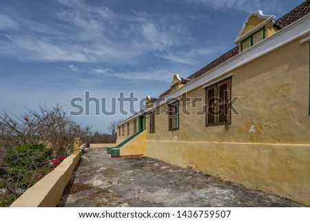 Views around the small Caribbean Island of Curacao  #1436759507