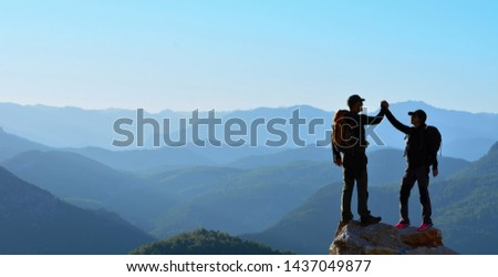 Two Adventurous People Summit Competition  #1437049877