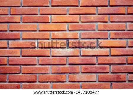 red brick wall texture for background #1437108497
