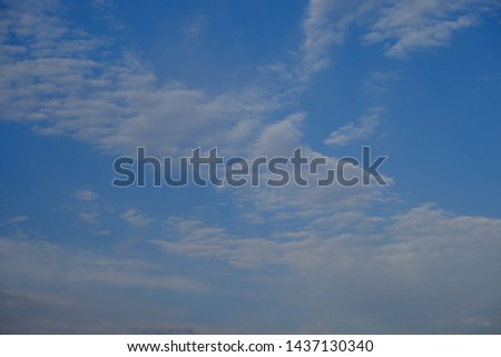cloud sky background white nature #1437130340