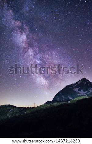Milky Way in Switzerland: Bernina Pass (Pontresina) #1437216230