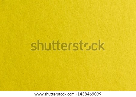 Close-up on detail of Yellow paper texture #1438469099