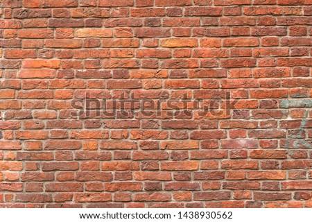 Seamless interior texture old brick wall. #1438930562