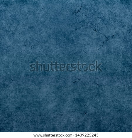 Blue grunge background. Colored abstract texture #1439225243