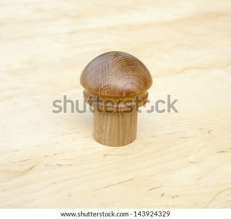 handle wooden oak #143924329