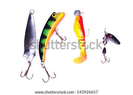 Different fishing baits #143926657