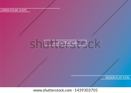 Geometric background. Dynamic shapes composition. Eps10 vector.Creative geometric wallpaper #1439303705