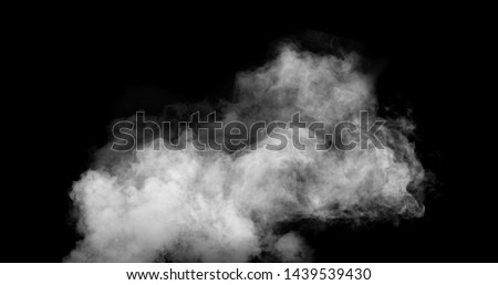 white smoke cloud with black background #1439539430
