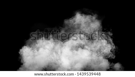 white smoke cloud with black background #1439539448