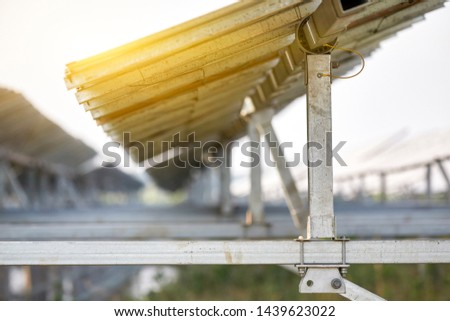 Solar photovoltaic panel iron bracket bottom diagram