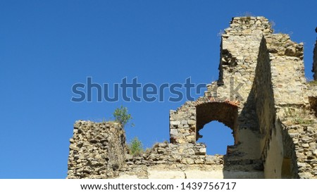 The ruins of the castle #1439756717