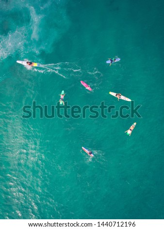 Surf School and a Paddle out #1440712196