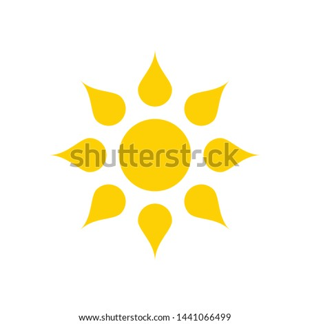 Sun Vector illustration Icon Logo Template design #1441066499