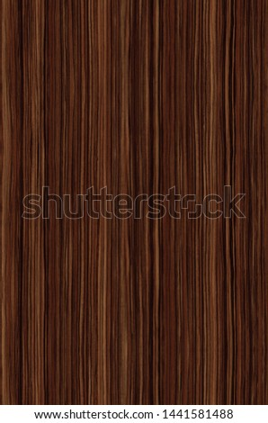 background and texture of Ebony wood veneer decorative furniture surface