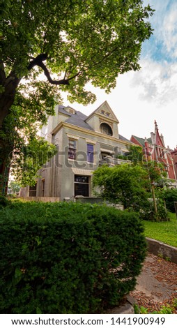Beautiful french style mansions at Old Louisville - LOUISVILLE. KENTUCKY - JUNE 14, 2019 #1441900949