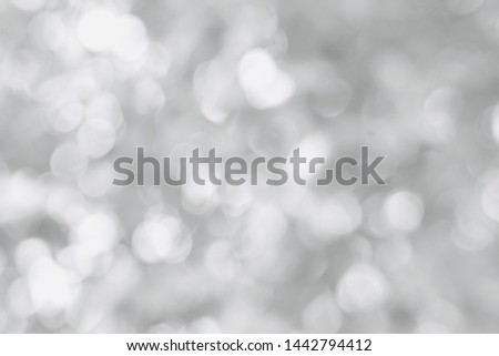 Lights on grey  bokeh background, Lights on bokeh background ,Natal vintage lights background ,grey and black. de-focused., blurred and defocused effect spring concept for design #1442794412