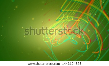 Happy Vivid Playground Colorful Strings background - illustration #1443124325