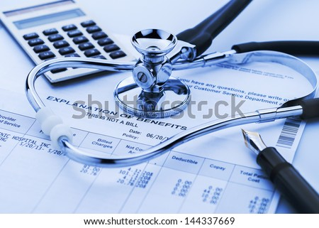 Cost of health care Royalty-Free Stock Photo #144337669