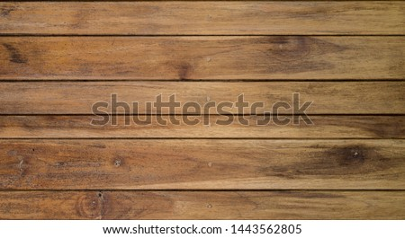 Wood texture background, wood planks #1443562805