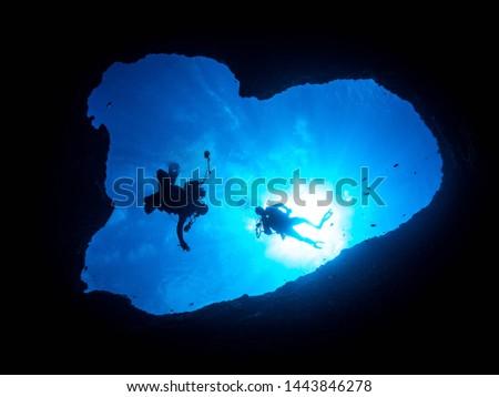 Guam Scuba Diving Underwater Photography Divers Blackwater Bonfire Scubadiving  #1443846278