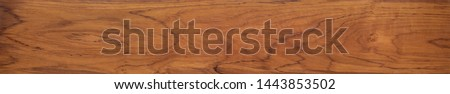 Burmese teak wood plank natural texture, plank natural texture background, super long teak wood plank texture background. #1443853502