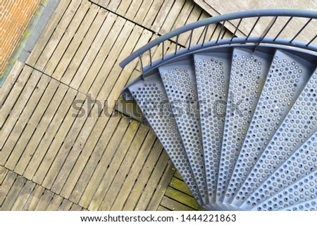 staircase, stairwell in the building #1444221863