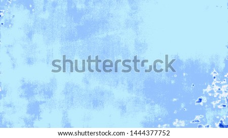 Art Stylized Blue Texture Effect. Beautiful Abstract Decorative Background.  #1444377752