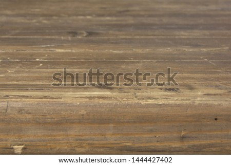 Wooden tabletop with a thick tabletop in perspective #1444427402