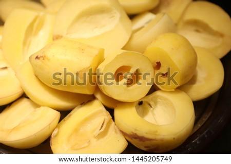 Fruit combination, fruit platter。Fruit, fruit and vegetable #1445205749