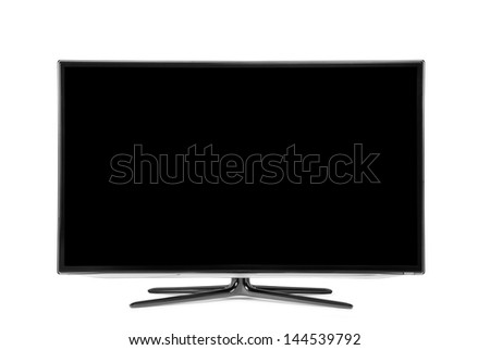 monitor isolated on white #144539792