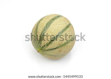 nice fresh artificial cantaloupe melon #1445499533