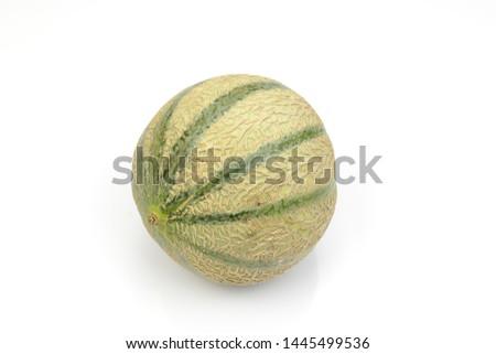 nice fresh artificial cantaloupe melon #1445499536
