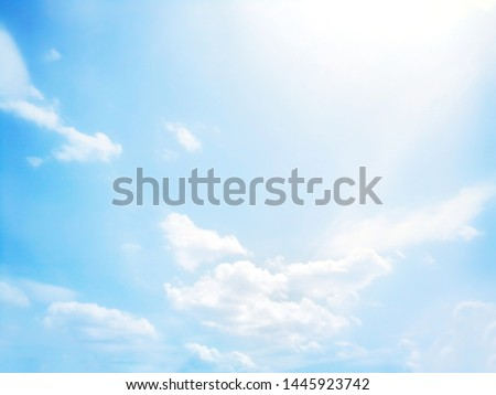 Beautiful blue and white sky background textures #1445923742