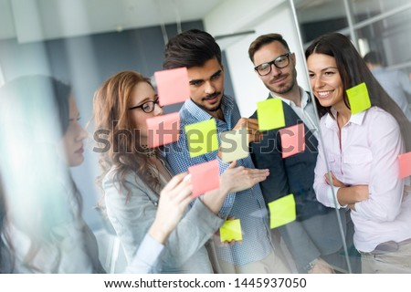 Group of architects and business people working together #1445937050