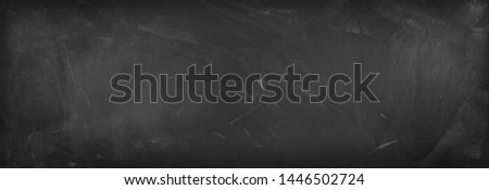 Chalk rubbed out on blackboard background #1446502724