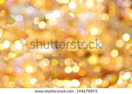 Photo realistic bokeh lights reflection crystal