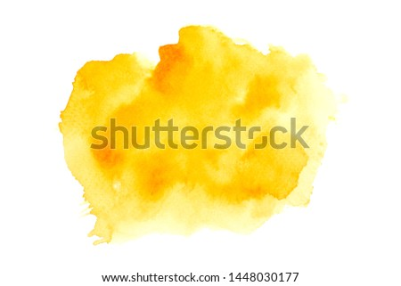 color yellow watercolor painting ideas techniques background #1448030177