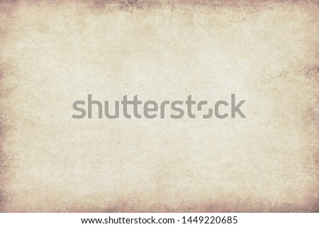 Old vintage paper background, grungy texture #1449220685