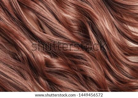 Single piece clip in dark auburn wavy synthetic hair extensions #1449456572