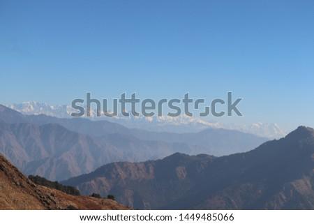 Himalayas in uttarakhand (uttarakhand tourism) #1449485066