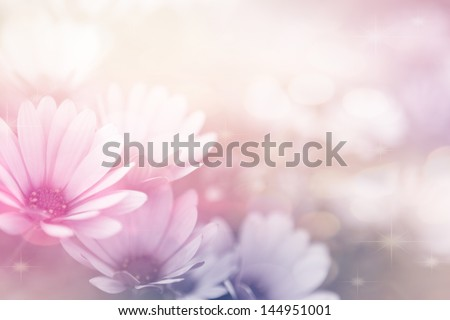 beautiful flowers made with color filters  #144951001