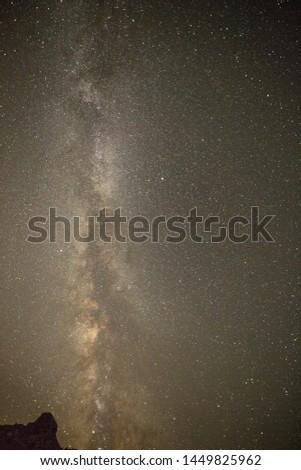 views of the Via Lactea at night #1449825962